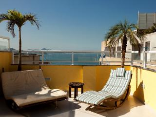Luxury 3 Ocean View Penthouse with Beautiful Patio - Ipanema vacation rentals