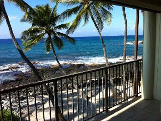 2 Bedroom, 2 Bath, Oceanfront Condo - Kailua-Kona vacation rentals