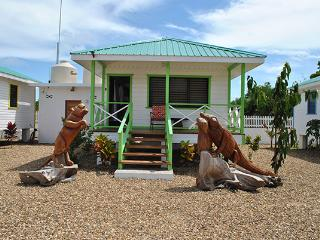Latitude Adjustment - Green Iguana Cabana - Hopkins vacation rentals