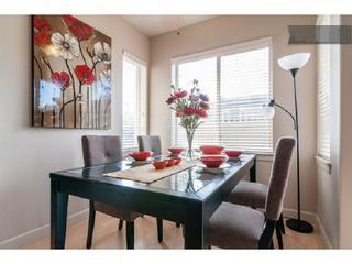 Dining area seats 8.  Extra chairs and red bench provided. - City Select, Upscale Apartment Near Downtown SLC - Salt Lake City - rentals