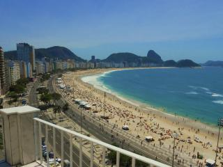 Spacious Copacabana Beachfront  Penthouse in Rio - Ipanema vacation rentals
