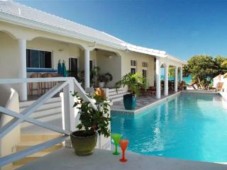 Villa Oceana at Chalk Sound, Turks and Caicos - Beachfront, Pool, Off-Shore Breeze And Calm Waters - Chalk Sound vacation rentals