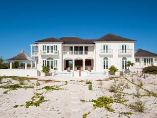Long Bay House at Long Bay, Turks and Caicos - Beachfront, Pool, Tropical Landscaping - Grace Bay vacation rentals