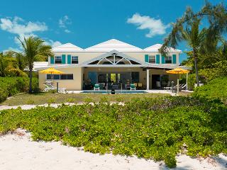 Serenity House at Grace Bay, Turks and Caicos - Beachfront, Pool, Colourful Tropical Foliage - Grace Bay vacation rentals