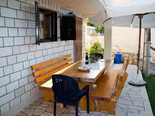 Studio Apartment on Island Ciovo with a Holistic Garden - Okrug Donji vacation rentals