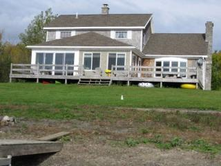Private home nestled on 17 acres with beautiful mountain views and 400+ ft. of lakefront, enjoy a family vacation and the early  - North Hero vacation rentals