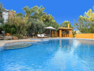 Beautiful holiday villa in the heart of  Ibiza with private pool and gym - ES-1075472-Sant Mateo - Zaragoza Province vacation rentals