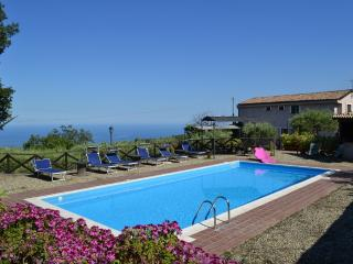 SUN OF SICILY: luxury villa with private pool, park, vista - Mascali vacation rentals