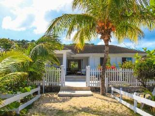 Fabulous Beachfront Sandra & Jessica with sun deck gazebo and maid service - Saint Jean vacation rentals