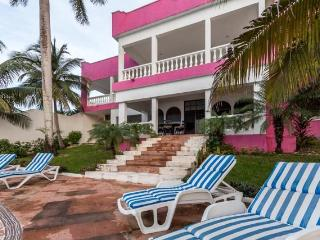 Villa Rosada - Huge Oceanfront Villa, Complete Privacy - Cozumel vacation rentals