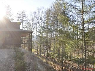 Imagine you can play with the silver and golden stars in the clear mtn skies - Blairsville vacation rentals