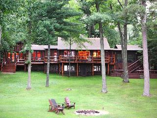 1920's Log Cabin on Rush Lake of the Whitefish Chain! - Crosslake vacation rentals