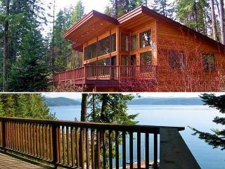 Coeur d'Alene Lake Beach Waterfront  - GO BY BOAT! - Northern Idaho vacation rentals