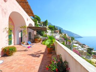 Villa in Positano with 3 bedrooms and 3 beautiful terraces from where you can enjoy a wonderful panorama! - Lucca vacation rentals