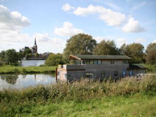 Houseboat on the river IJssel near the city of Kampen - Kampen vacation rentals