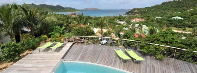 4 Bedroom Villa with Private Terrace overlooking Saint Jean Bay - Image 1 - Saint Jean - rentals