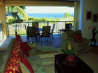 Oceanview 3 Bd/3 Bath Wai'Ula'Ula-  now booking 2014 - Waikoloa vacation rentals