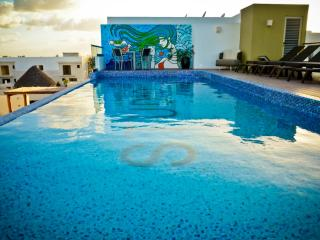 Flat with Great Terrace and Pool SO303 - Playa del Carmen vacation rentals