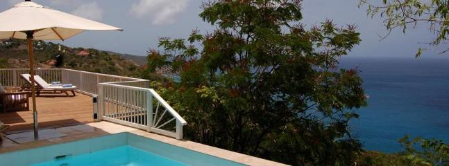 Exceptional 2 Bedroom Villa with Panoramic Ocean View in Colombier - Anse des Flamands vacation rentals