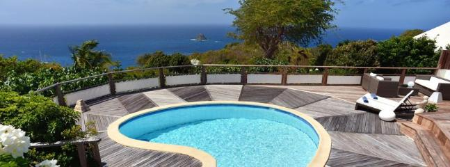 Taniko at Colombier, St. Barth - Ocean View, Amazing Sunset Views,Private