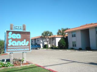 Tropical Haven, swimming pool and walkway to beach - Port Aransas vacation rentals