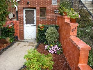 Spacious 1 bedroom w/ private patio & near subway - Queens vacation rentals