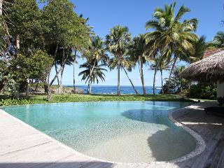 Tropical Beachfront Villa - Fully Staffed   (15% off all booking completed by 9/30/14 - 1 week min,) - Cabarete vacation rentals