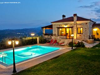 Traditional Luxury Villa With Private Pool & View - Chania vacation rentals