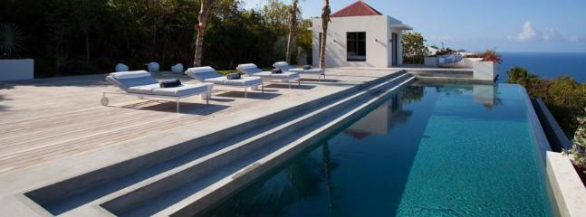 Palm Springs at Gouverneur, St. Barth - Luxury Villa, Heated Pool, Amazing Sunset View - Terres Basses vacation rentals