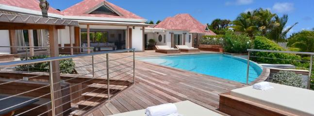 Valentina at Pointe Milou, St. Barth - Ocean View, Private Community, Heated Pool - Terres Basses vacation rentals