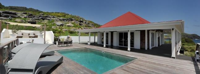 West Indies at Flamands, St. Barth  - Ocean View, Walk to Beach, Contemporary - Image 1 - Flamands - rentals