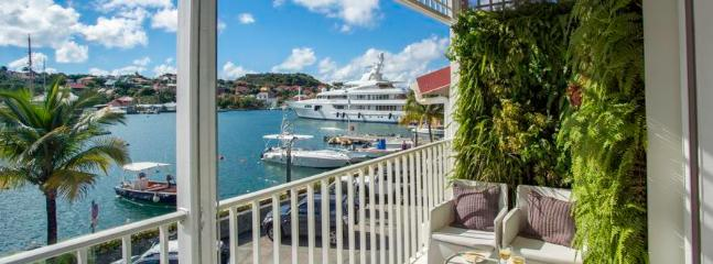Suite Harbour at Gustavia, St. Barth - Harbour View, Within Walking Distance To Shops, Restaurants, Bars and Beach - Terres Basses vacation rentals
