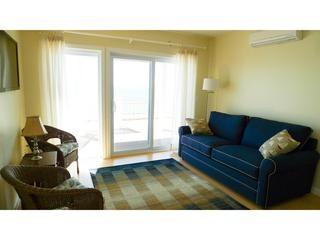 Living Area/Deck View - New Luxurious Beachfront Condo - 482 Shore #1 - Truro - rentals