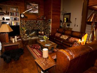 Decorator furnishings, huge deck, hot tub, large yard, minutes to private pier and beach, near Tahoe City - Carnelian Bay vacation rentals