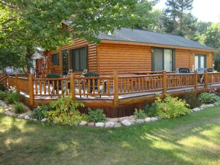 Log Cabin with LakeView frontage - Northeast Michigan vacation rentals