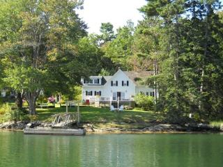 TIDEWATER FARM | SOUTHPORT ISLAND | COVE SIDE | DECKER'S COVE| QUIET GETAWAY | DOCK & FLOAT - Boothbay vacation rentals