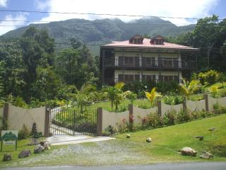 Mountain view self catering apartment. - Morne Trois Pitons National Park vacation rentals