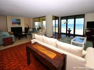 Sand Dollar I 502, Penthouse Luxury 4 Bedrooms, HDTV, BeachFront - Crescent Beach vacation rentals