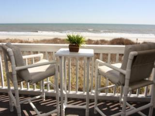 Patio View - 3 BR/2 bath oceanfront  condo, N. Myrtle Beach, SC - North Myrtle Beach - rentals