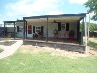 Cabin Style Home in The City!! Large Covered Deck! - Oklahoma City vacation rentals