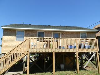 Ocean side of Fin and Tonic House - OBX Fin & Tonic2 3BR/2BA house, sound-ocean views - Frisco - rentals