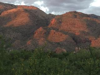 This rare, end unit casita home offers unblocked, panoramic mountain views! - Tucson vacation rentals