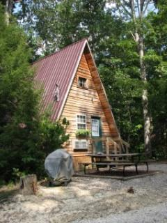 Outside of cabin - Red River Outdoors - Wagon Wheel - Slade - rentals
