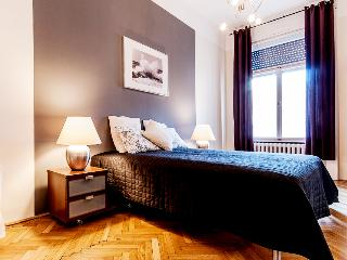 Szép 3 - 3 bedroom apartment, A/C, Wifi, 140 sqm - Budapest & Central Danube Region vacation rentals