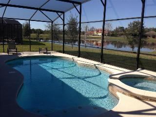 CALABRIA -Extraordinary SB single story 5 bedroom/4bath - private pool home with Spa-Game Room- Conservation view TOO GOOD TO MI - Kissimmee vacation rentals
