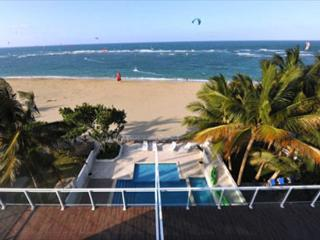 Oceanfront Rental - Any closer to the Ocean, you would be a fish - Cabarete vacation rentals