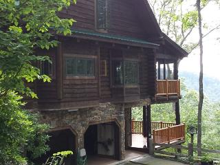 Summer on the Mountain - Fantastic Custom Log Home - Nothing average here - Cabarete vacation rentals