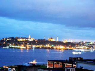 Balcony Bosphorus Sea View Apt Istanbul Center - Istanbul vacation rentals