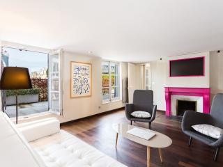 40. SPACIOUS CHAMPS ELYSÉES APT - LARGE BALCONY - 5th Arrondissement Panthéon vacation rentals