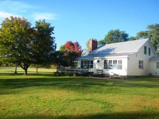 Country Home with 200 ft of Gradual Lakeshore located on the tip of North Hero Island. - North Hero vacation rentals